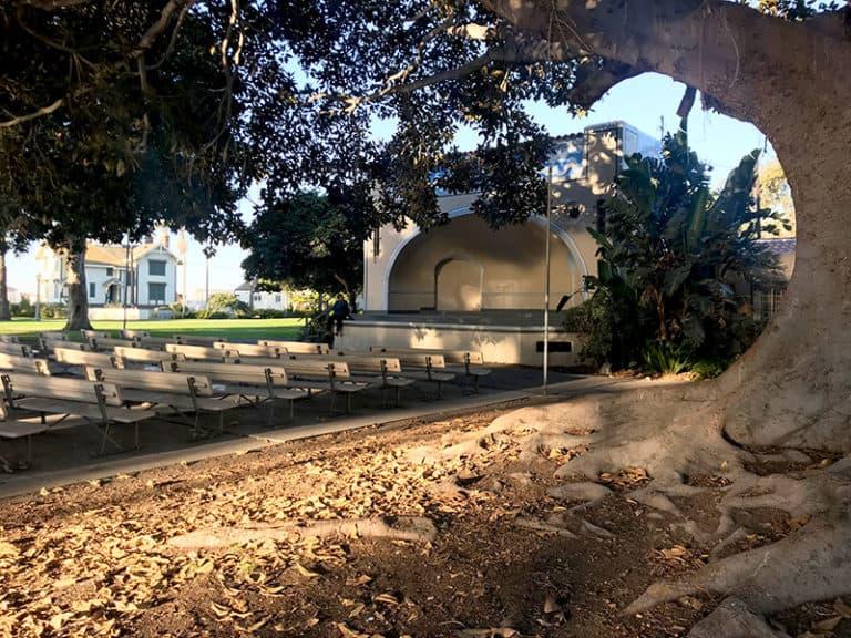 Point Fermin Park outdoor theatre