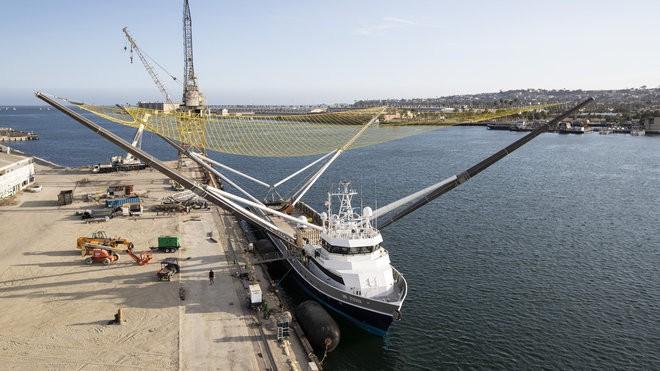 Boat at San Pedro, CA