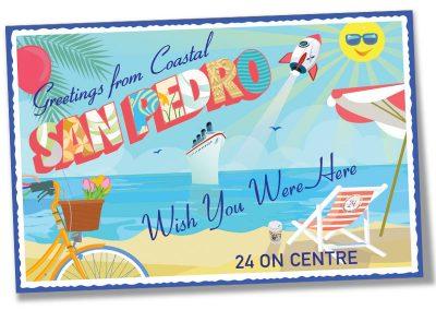San Pedro postcard